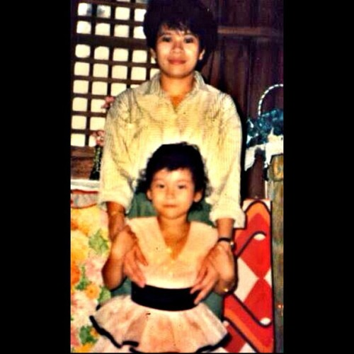 Another Throwback Thursday.. #oldpic #throwback #tbt #mom #mother #me #igers #1987