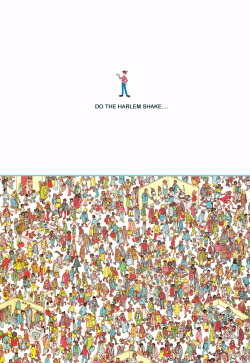 Harlem shake…..Where's Waldo edition.