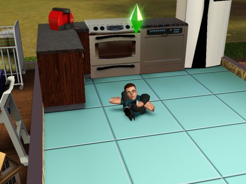 simsgonewrong:  Satan's minions at work again