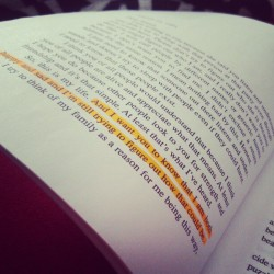 madeadealwiththedevil:  Reading, is wonderful. #ThePerksOfBeingAWallflower #FavoriteLine