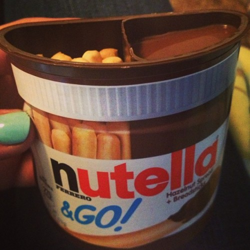 #yummy #nutella #nutellatogo