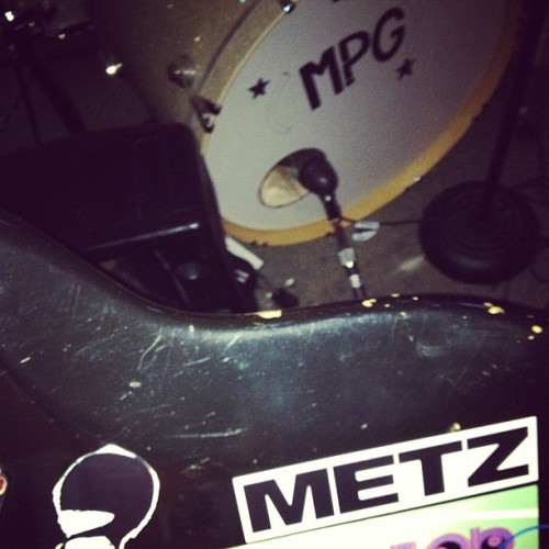 It's in my guts! #metz #newsticker #inspiration #mpg #baddassbass (at Rehearsal Factory)