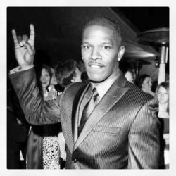 Jamie Foxx says downloading #makehorns for free is better than getting an Oscar. #apoc #jamiefoxx #newmusic #hiphop #bandcamp http://apoc.bandcamp.com/releases