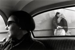 On a Dutch Ferry by Louis Stettner, 1951.
