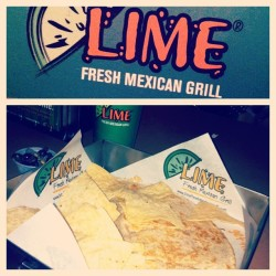 Some #Mexican Pleasure 😜 at #limemexicangrill (at Lime Fresh Mexican Grill)
