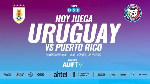 🇺🇾🆚🇵🇷  ¡HOY JUEGA URUGUAY!  Se disputará el partido revancha de la Copa @bseuruguay y será transmitido por https://t.co/c8I7Zn2wj2 desde las 18.45 h. #UruguayPuertoRico #Collage #ProgramaCollage #Noticia #deporte #futbol #FiFA #AUF #AUFTV  (en Montevideo, Uruguay) https://www.instagram.com/p/CQJGoRFBOyp/?utm_medium=tumblr #uruguaypuertorico#collage#programacollage#noticia#deporte#futbol#fifa#auf#auftv
