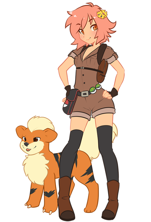 spazzykoneko:  I made a Pokemon trainer character! I seriously never have before. Dunno why. It was fun though. I have a whole little back story and stuff for her but NO ONE would be interested in that so I am saving you people from the boring Mary Jane type character. Trying to draw and post more in 2013. So if I don't do an art every few days feel free to harass me about it <^<  Spazzy Art! I will be harassing you.