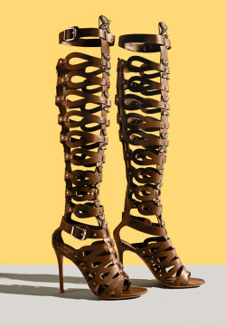 bergdorfgoodman:  Altuzarra's warrior shoes.