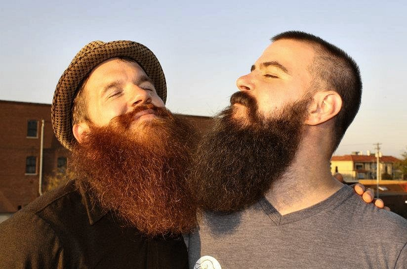 flickr-beard-power:  This is what happens when two beards get together. Follow: http://flickr-beard-power.tumblr.com/