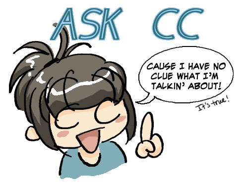 This week, I'll be fielding writing questions. :D Anything you guys wanna know about writing characters, plot, structure, etc. etc.