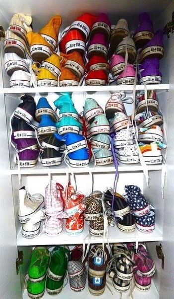 Fashion Fantasy: unlimited Converse choices.
