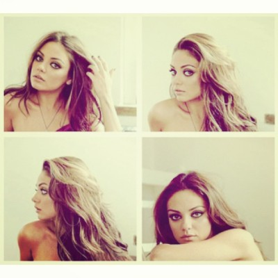cum-at-ezz:  She's so stunning #colour #mila #milakunis #beautiful