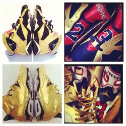 I deffinalty gotta cop this from @elcappy crazy custom golden moments pack #igsneakercommunity #killinit