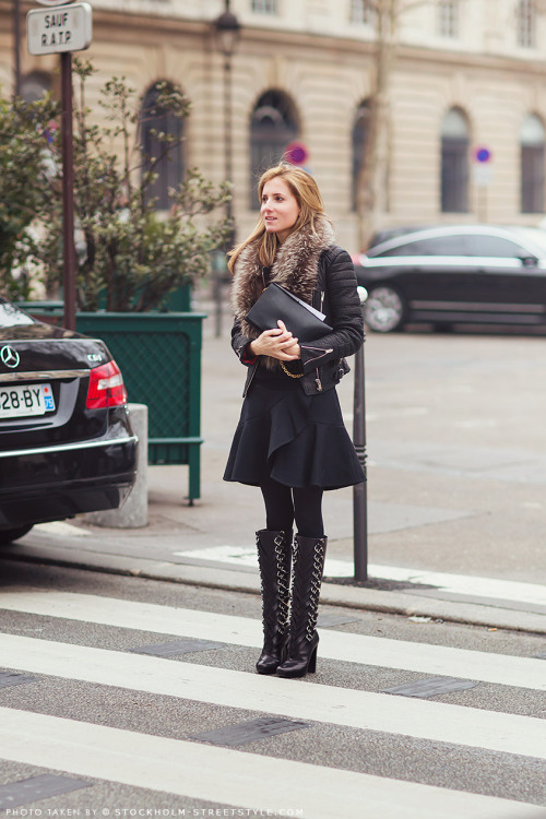 what-id-wear:  What I'd Wear (original : Stockholm Street Style )