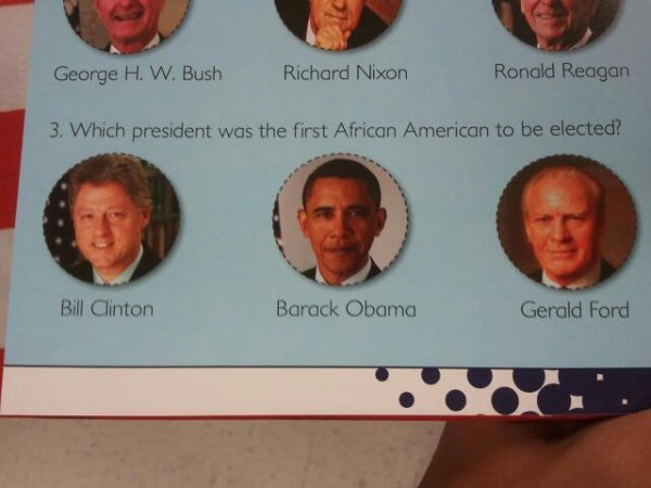 collegehumor:  The Dumbest Question About Presidents Ever to Have Been Asked Bill Clinton, final answer.