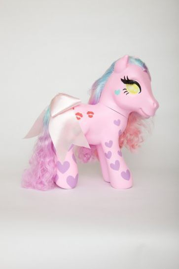 "beibadgirl: Bei Badgirl 18"" inch My Little Pony $800.00  Shop Toy Art Gallery"