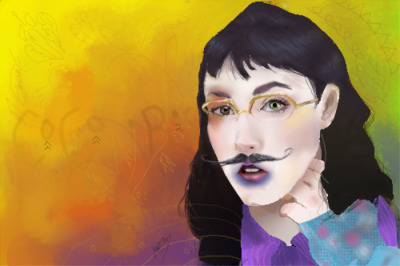 hahafish:  fan art for cocorosie <3
