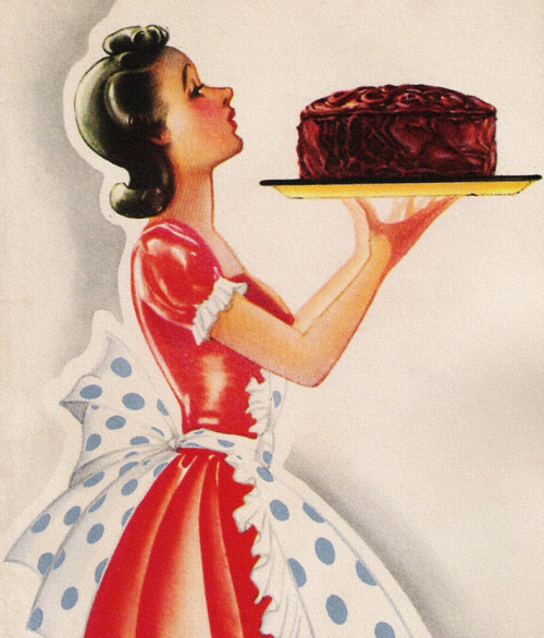 I like cake.   rogerwilkerson:  Cake Lady… another of my 8 year old's favorite things