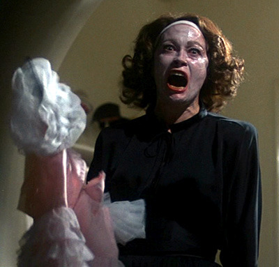 Watching Mommie Dearest with my mom on Mother's Day.