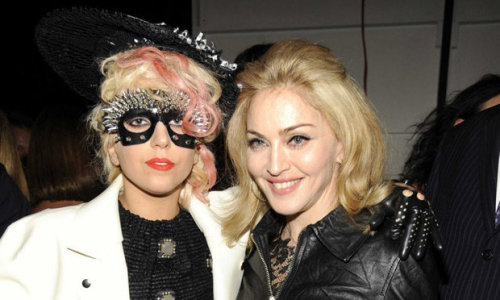 Lady Gaga and a fan ;)