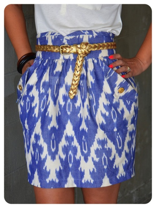 chicagoclasssouthernsass:  where can I get this skirt?