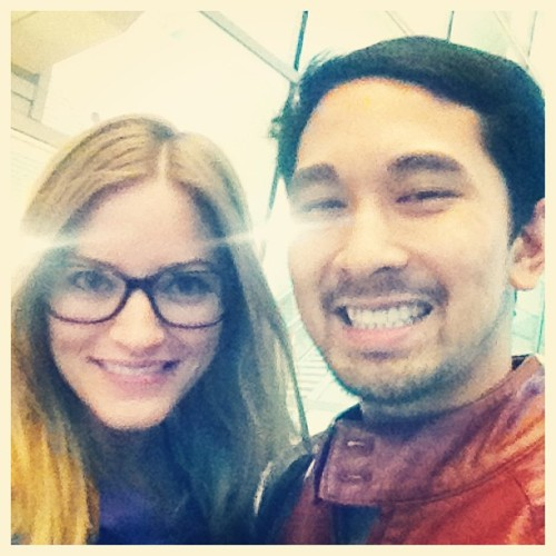 Ahhh! I just met @ijustine at the San Jose Airport bc we both had the same flight from LA to SJC and she wished me a happy birthday! Super beautiful & nice. 😱 😁 Thanks @ijustine ! #TotallyNerdedOut #YoutubeCeleb #BestDayEver !   (at San Jose Airport)