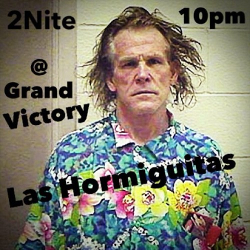 Surf's Up! Las Hormiguitas at 10pm- Grand Vic Wburg @lylatimes @ryanspoto @ryanstreet