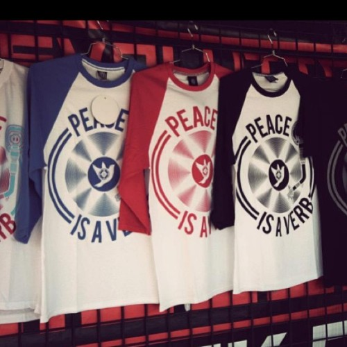 Peace is a Verb X Baseball get yours now SOTERIK.com