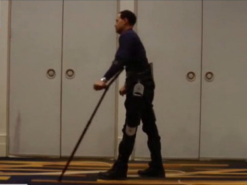 "nationalpost:  Wearable robots that can help paralyzed people walk will be a 'godsend'When Michael Gore stands, it's a triumph of science and engineering. Eleven years ago, Gore was paralyzed from the waist down in a workplace accident, yet he rises from his wheelchair to his full 6-foot-2 and walks across the room with help from a lightweight wearable robot.The technology has many nicknames. Besides ""wearable robot,"" the inventions also are called ""electronic legs"" or ""powered exoskeletons."" This version, called Indego, is among several competing products being used and tested in U.S. rehab hospitals that hold promise not only for people such as Gore with spinal injuries, but also those recovering from strokes or afflicted with multiple sclerosis and cerebral palsy."