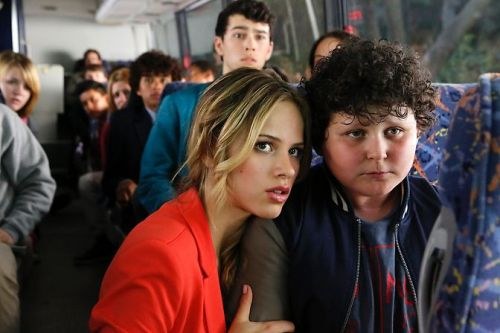 "nickelodeonkids:  The official NBC website for Halston Sage and Max Schneider's new show ""Crisis"" is up! Halston Sage plays Amber Fitch and Max Schneider plays Ian Martinez in their new show."