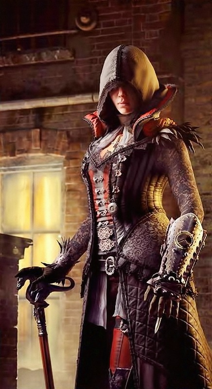 Spirit Wq De New Evie Frye S Outfit From Victorian Legends Pack