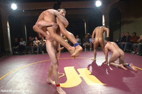 Naked KombatSeth Santoro &amp Sebastian Keys vs Alexander Gustavo &amp Billy SantoroVideo at http://gogng.co/kqmenMore at http://RoughGnG.com