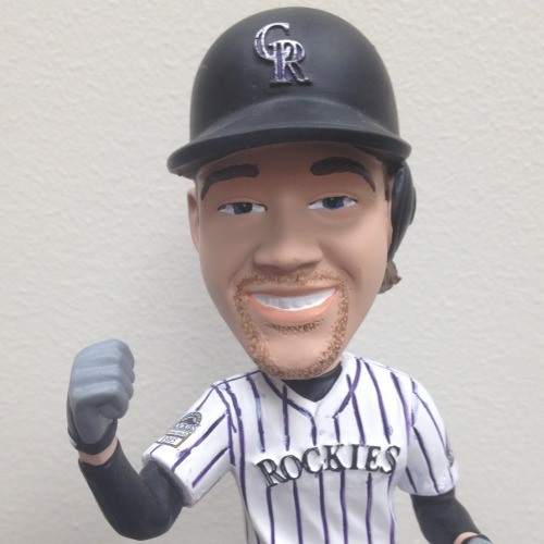 #LilDante: YESSSS! Today is my BIG DAY at Coors Field! Make sure to get there EARLY and you can take me home with you. But only the first 20,000 fans through the GATES!! Tickets are still available: http://atmlb.com/107Svbw I LOVE YOU!! YES! *Fist Pump*
