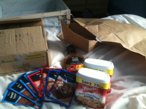 I got a package from Mommy! I love how much of a fatass I am lol. Oh yeah, she'll be here in 5 days!!!!