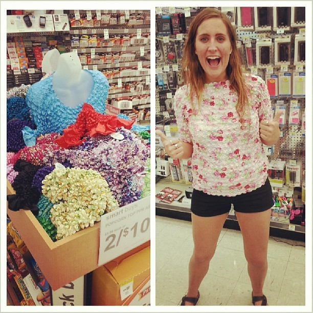 Scrunchie tops at walgreens!  @lesliegriger