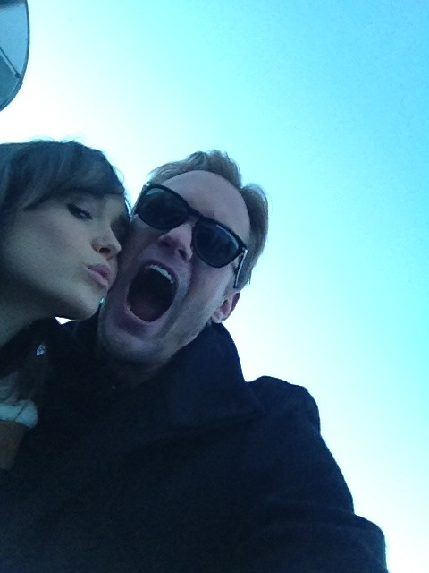 Ellen Page and Alexander Skarsgård stole our camera for a selfie while they were at Sundance promoting their film, 'The East!'