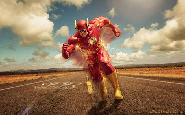The Flash by Glenn Meling on Flickr.