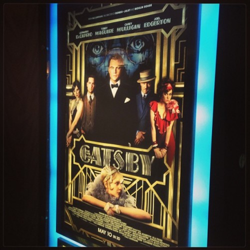 Seeing this for the second time! #thegreatgatsby  (at Marcus Orland Park Cinema)