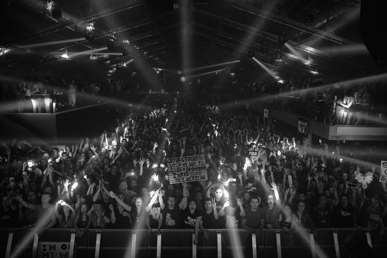 paavosiljamaki:  Thanks for making our return to our favourite venue so incredible - New City Gas does it right.