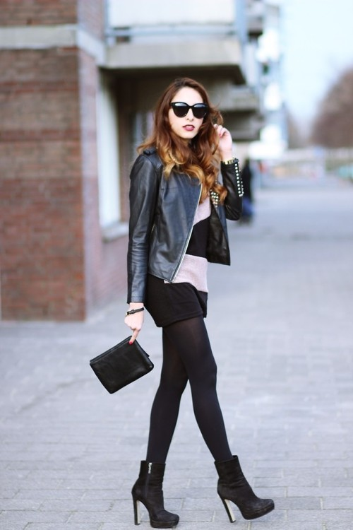 lookbookdotnu:  Black betty 1977/ Ram Jam feat Preppyfashionist (by Virgit Canaz)