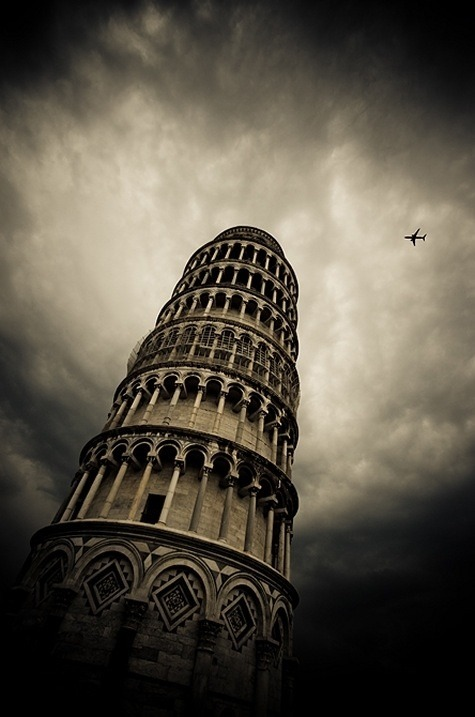 The Leaning Tower of Pisa By butterflyscream