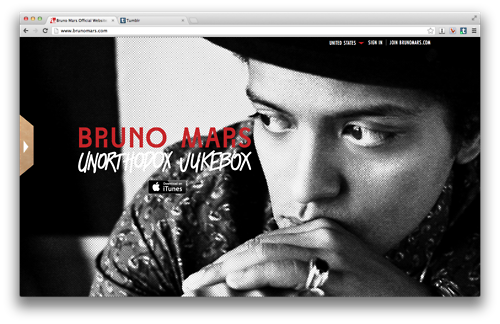 The New Brunomars.com