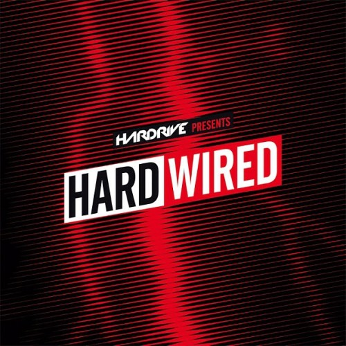 This is the final artwork cover for 'Hard Wired' out 25/03/13 on Hardrive!