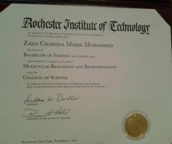 Finally got my diploma!