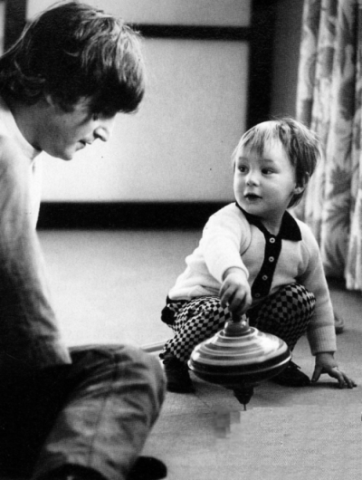 John Lennon with Julian Lennon
