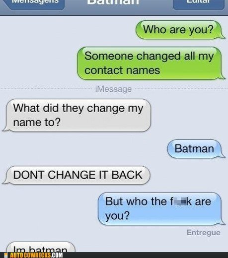 Why Do I always Have to be Batman?- tumblr pictures