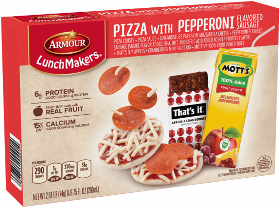 Amour Lunchmakers Pizza with Pepperoni