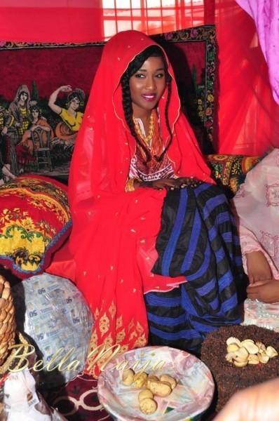 Beautiful Nigerian woman from the Kanuri part of Nigeria.