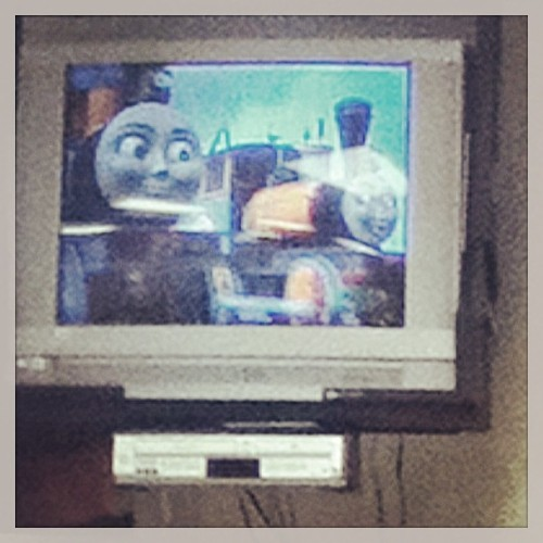 That moment when your class enjoys Thomas the train…