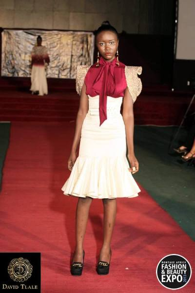 Highlights from Montage Africa Fashion and Beauty Expo 2013 Designer: David Tlale cutfromadiffcloth.tumblr.com